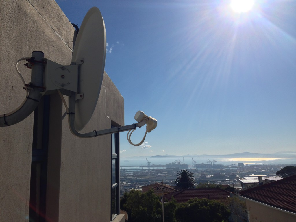 Cape Town DSTV Satellite Dish with LNB