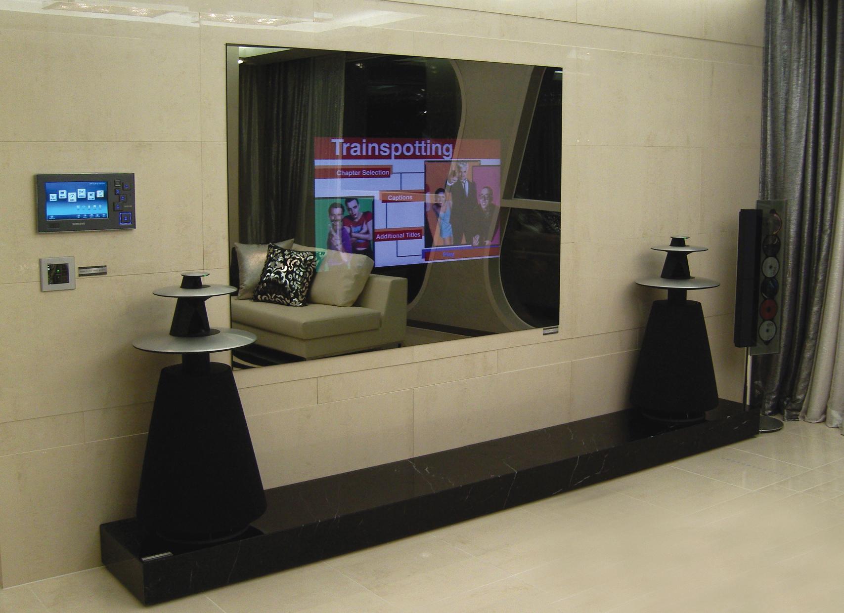 Телевизор за зеркалом своими руками