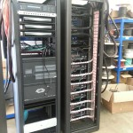 Completed rack ready for installation on site