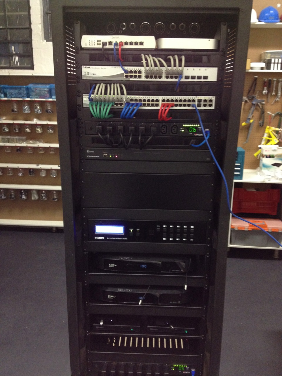 Our First Rack Build Mirror Edge Networks