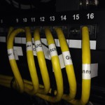 Close Up: Checking all cabling is labelled corectly