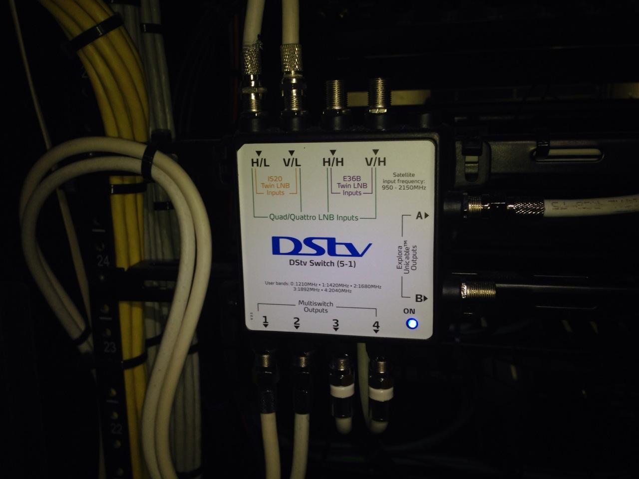 DSTV Satellite Switch
