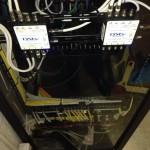 Installing rear perspex rack insert