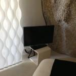 Television on Pedastal