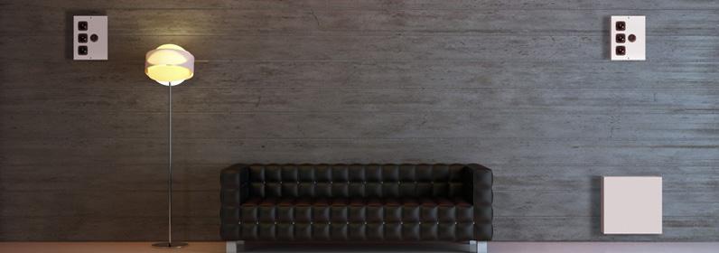 Micro Sub + Diablo on wall grey room