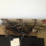 Original gym cabling installation