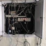 Removing unneeded cabling and preparing to install new CAT6 cable