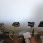 Terminating CAT6 and tidying up other cables