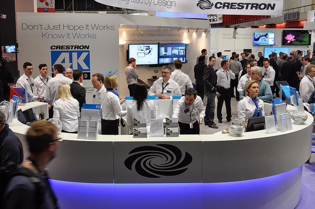 Crestron at ISE 2014 Med Res