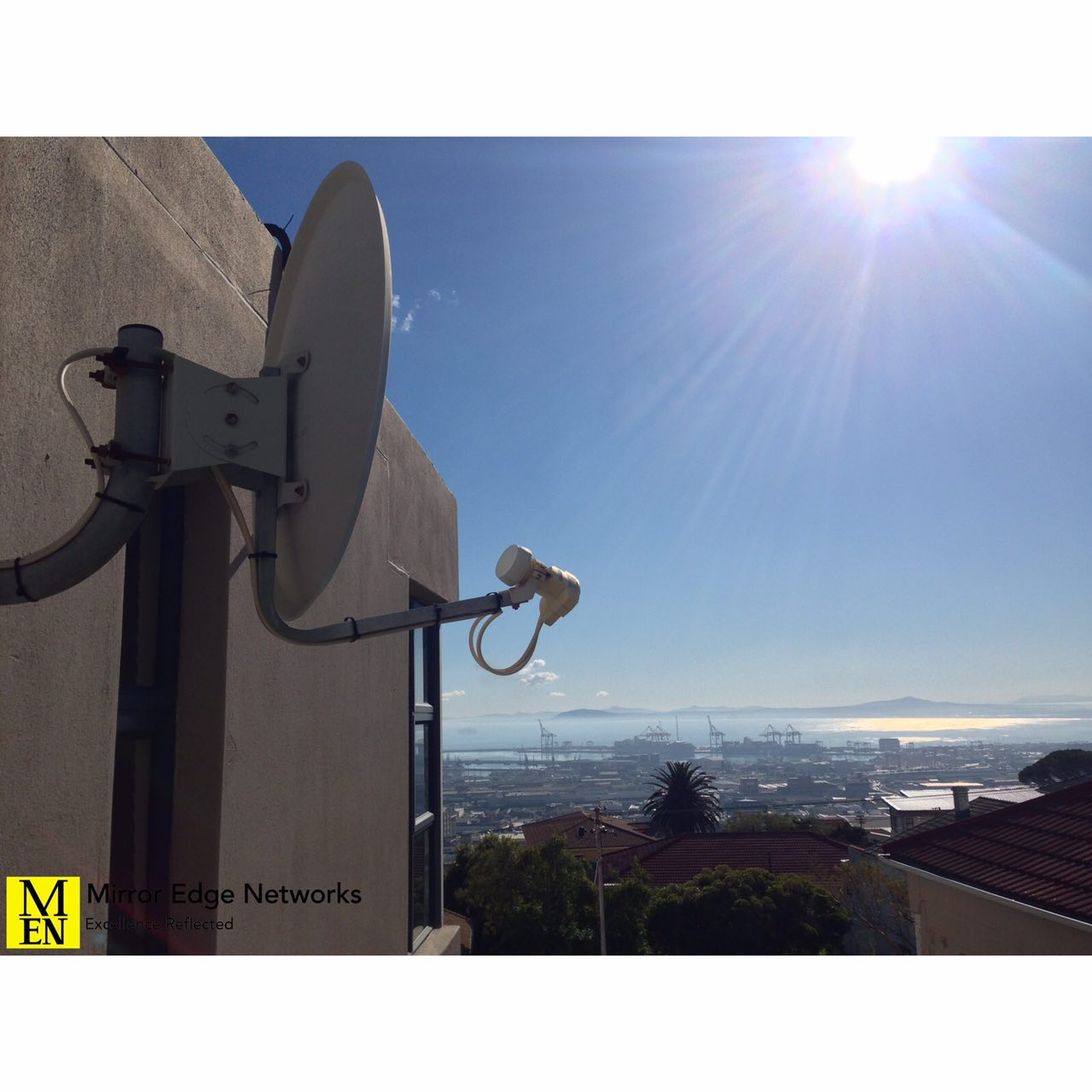 Cape Town new LNB installed