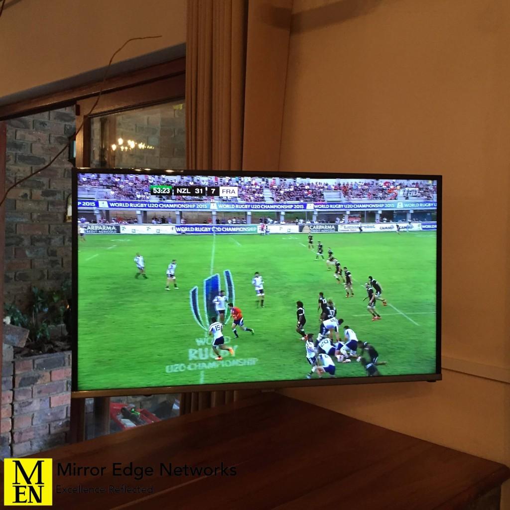 Constantia television installation 007