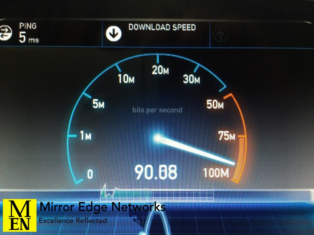 Bishops Court Fibre speed 089