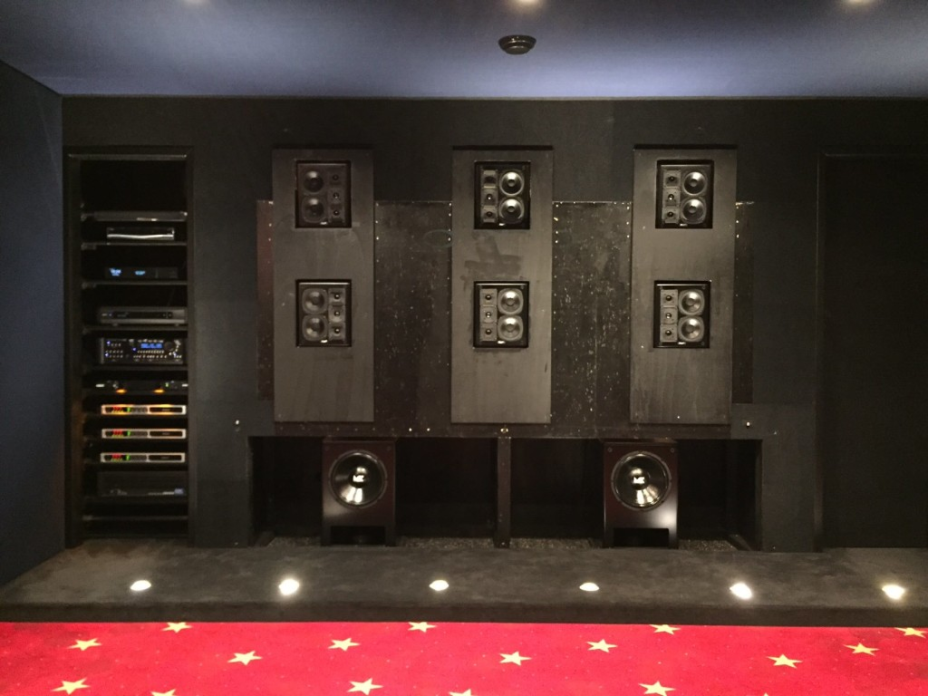MK Sound home cinema setup