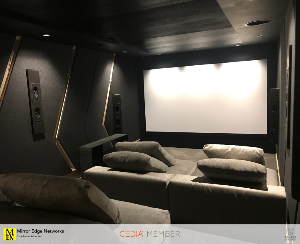 Our first look at the completed Dolby Atmos home cinema