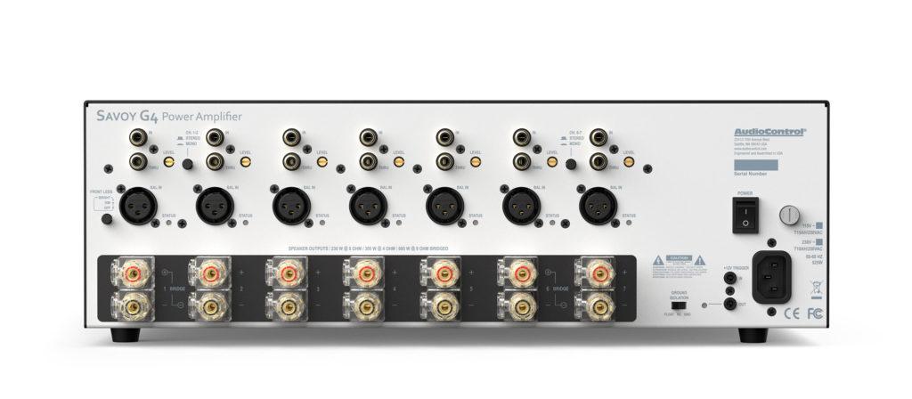 Audio Control Savoy G4 home cinema amplifier