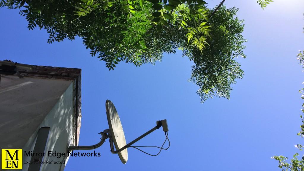 Satellite Dish Service Call 005