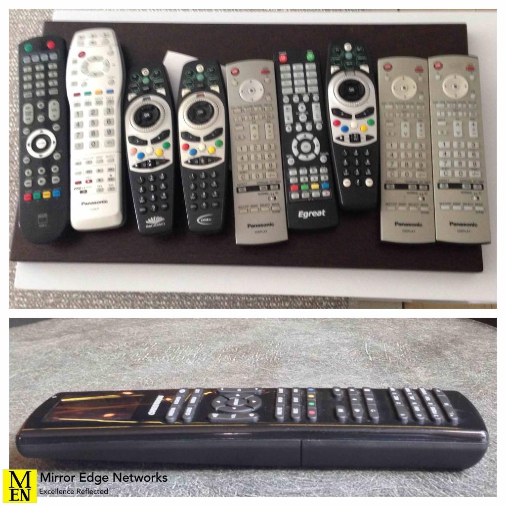 Crestron Remote Control 007