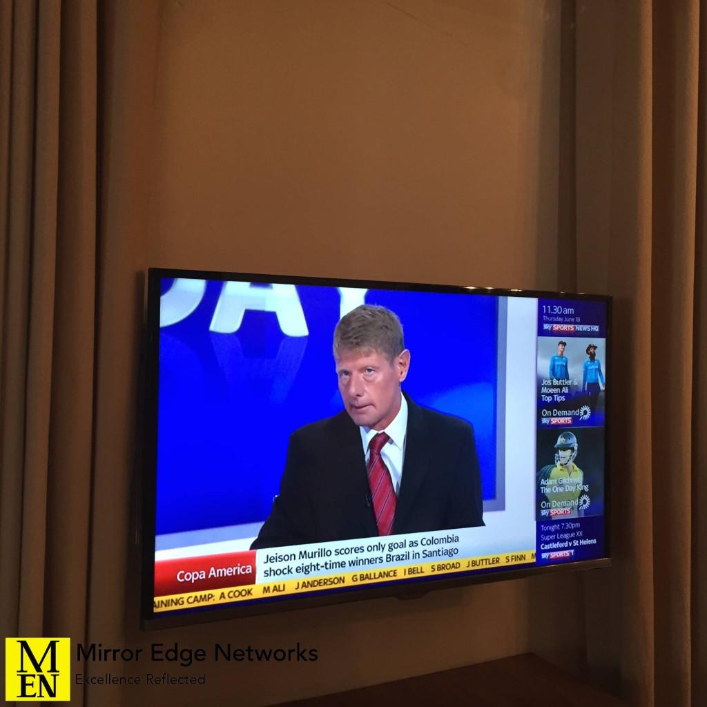 Constantia television installation 001