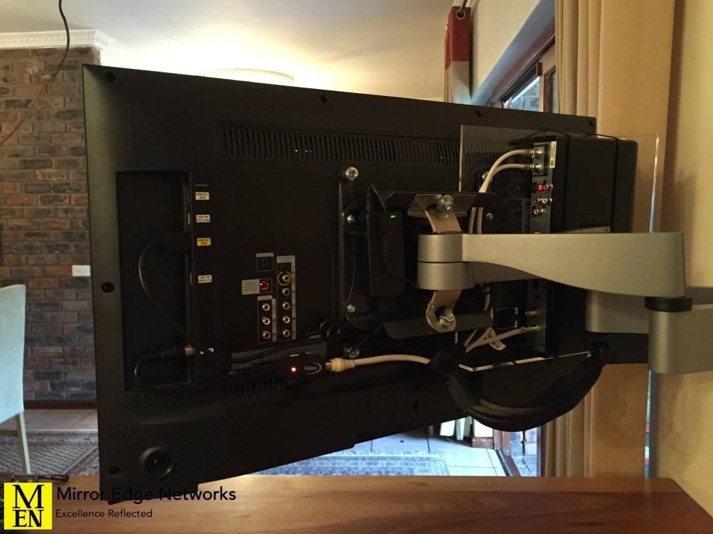 Constantia television installation 008
