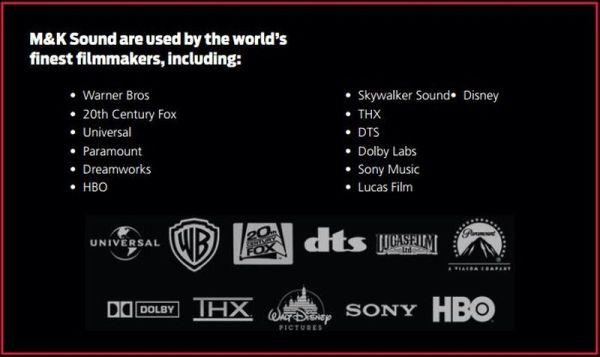 Film Studios using MK Sound