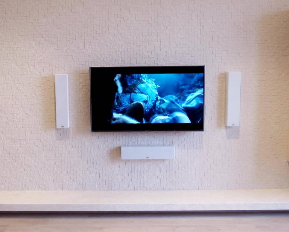MK Sound M Series installed