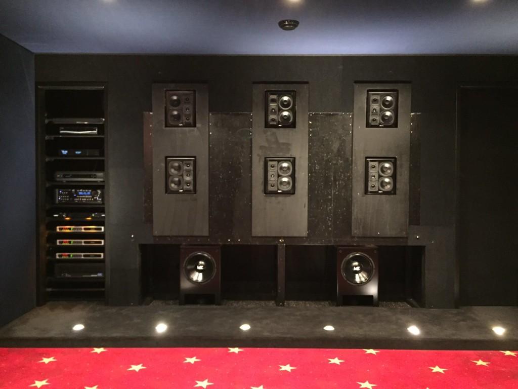 MK Sound home cinema setup