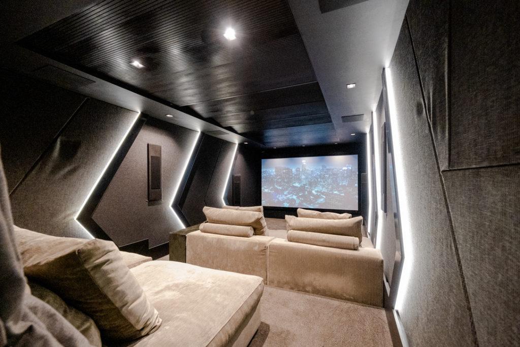 Wisdom Audio home cinema in Cape Town, South Africa